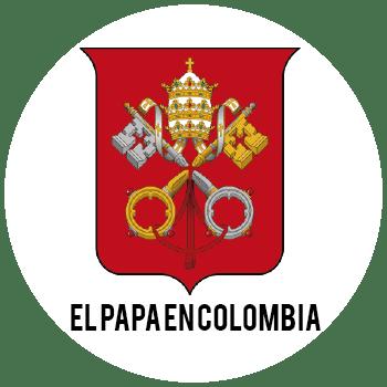EL PAPA EN COLOMBIA LOGO