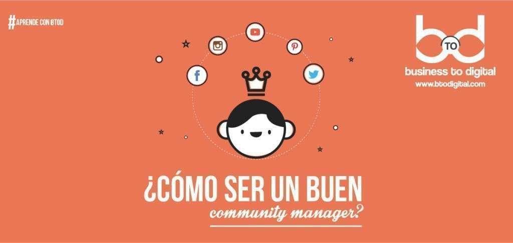 [INFOGRAFÍA] ¿Cómo ser un buen Community Manager?