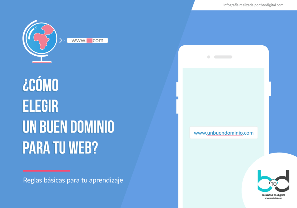 ¿Cómo elegir un buen dominio para tu web?