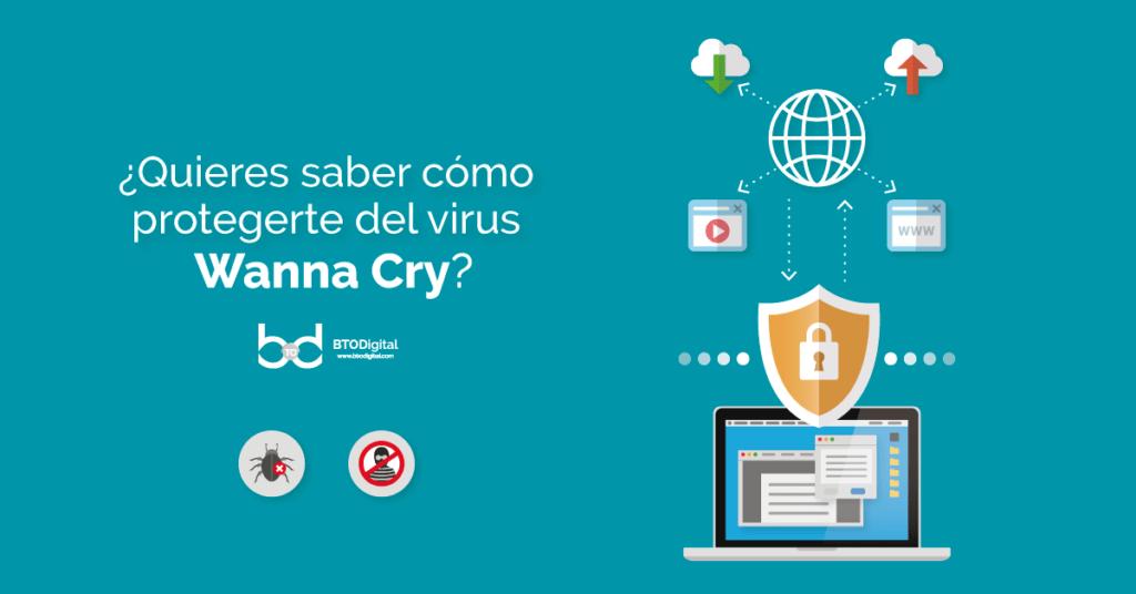 ¿Cómo proteger tu información del virus WannaCry?