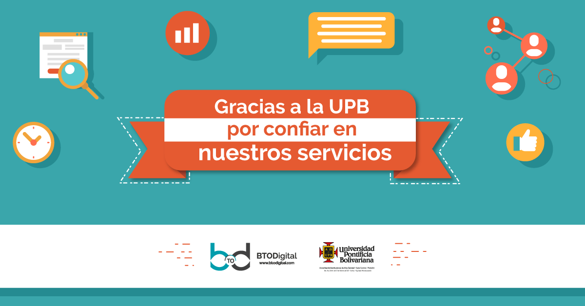 Caso de éxito de marketing digital UPB
