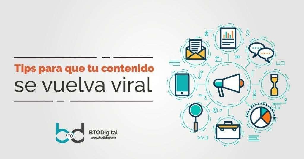 8 Tips para que tu contenido se vuelva viral