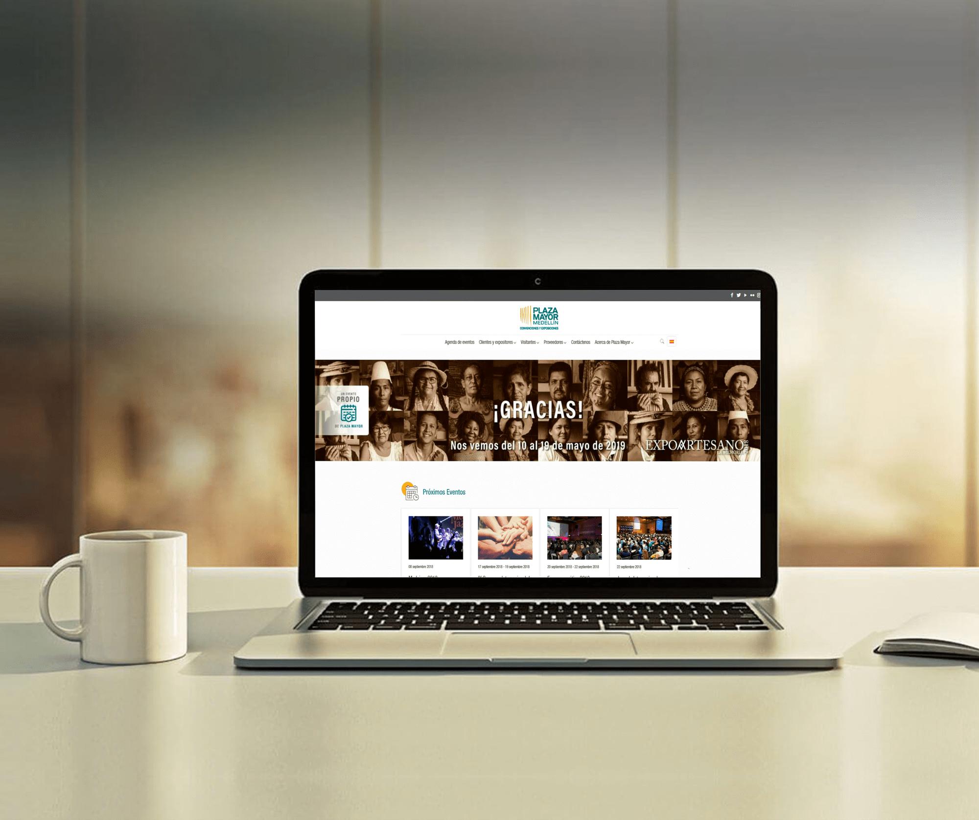 Sitio web Plaza Mayor creado por BTODigital