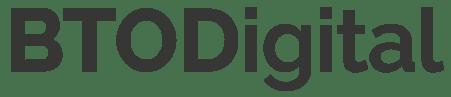 Logo minimalista BTODigital
