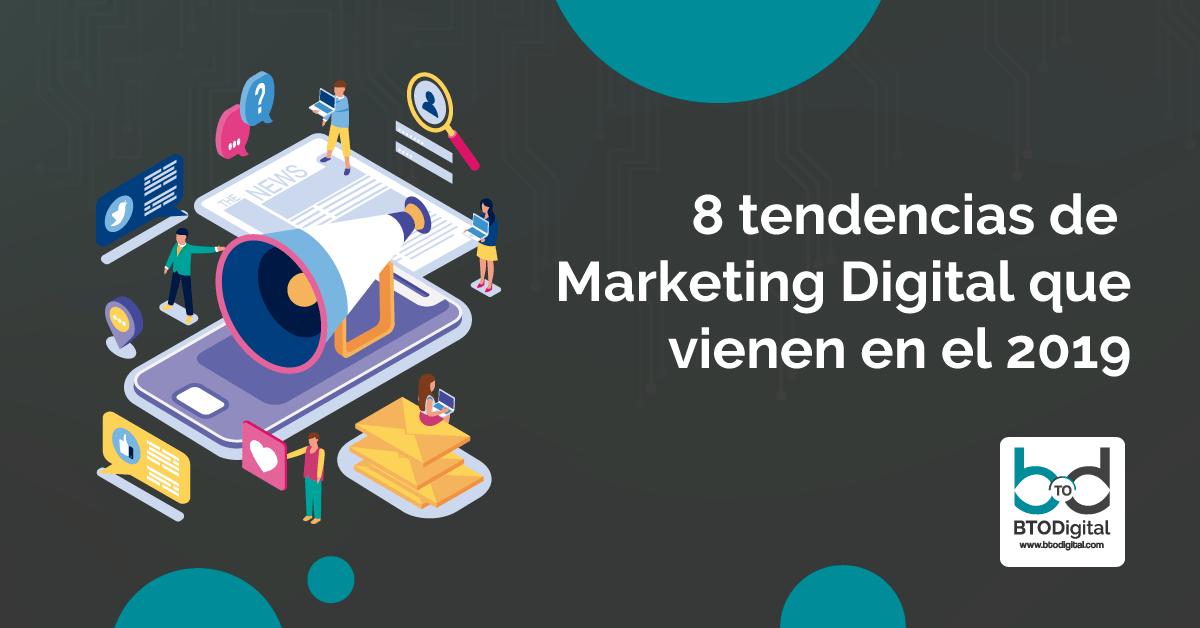 Marketing Digital Tendencias 2019