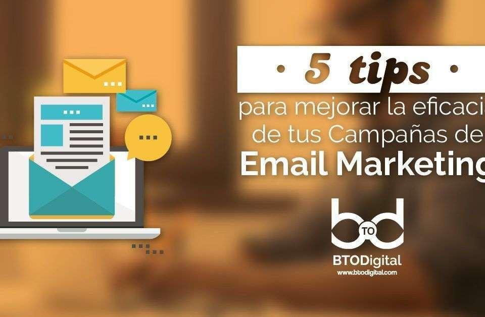 Tips Email Marketing BTODigital