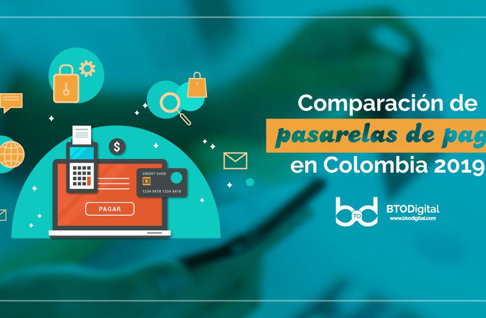 Comparación de Pasarelas pago 2019 - BTODigital