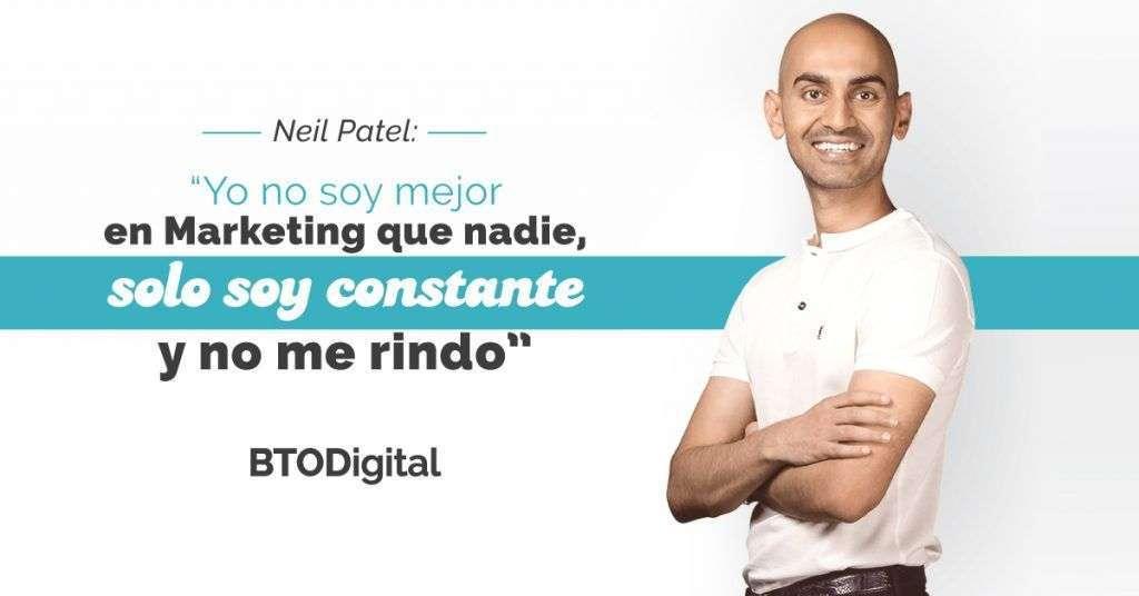 Conferencia Neil Patel - BTODigital