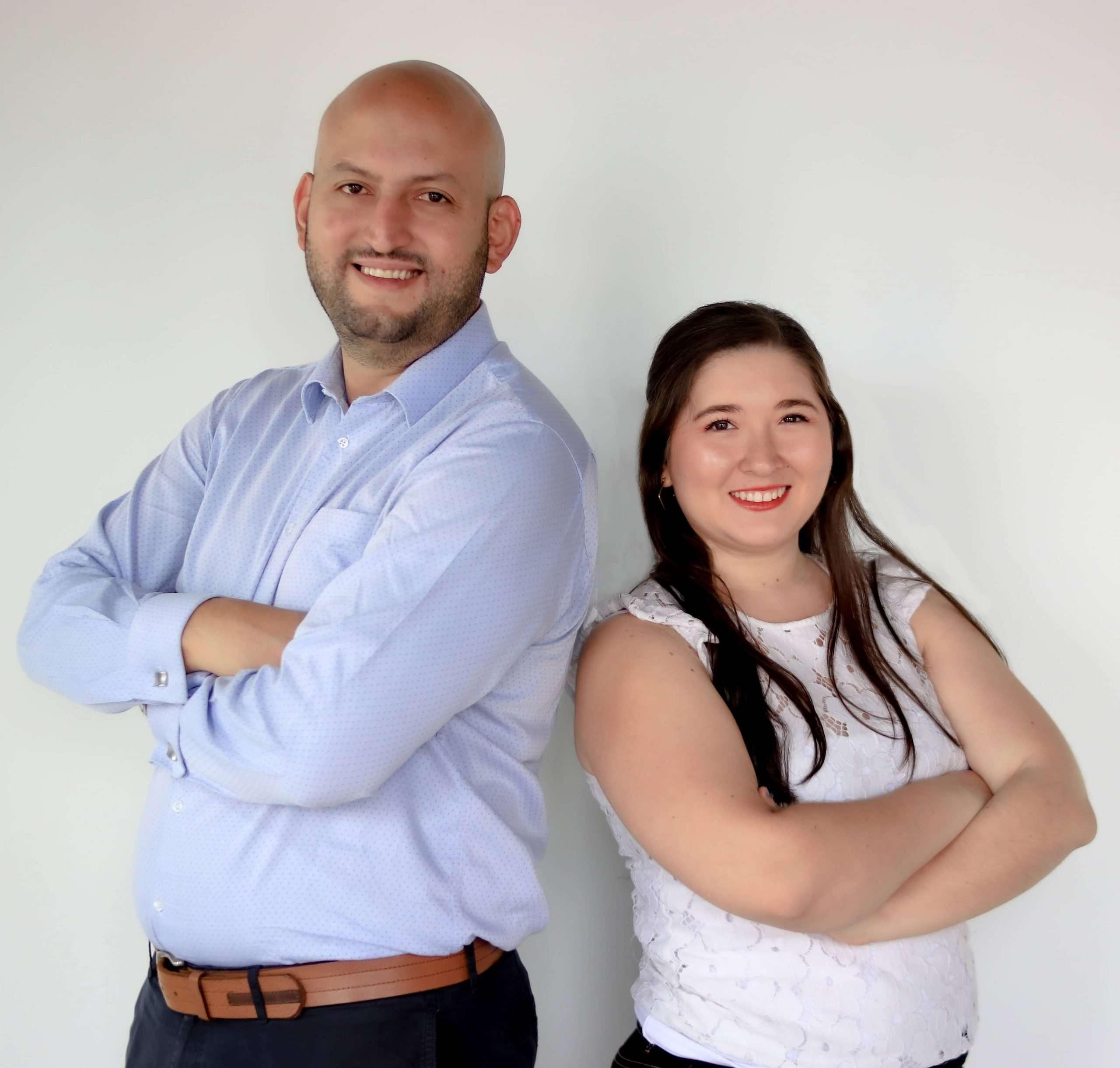 Angy Zambrano y Carlos Betancur Gálvez - BTODigital - Agencia de Marketing Digital